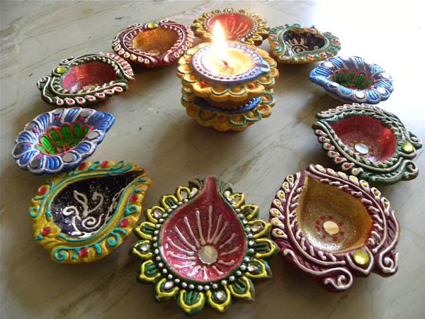 Decorative Diyas