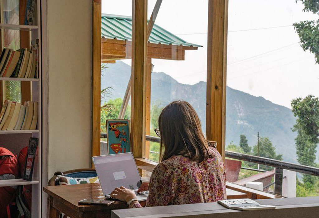 Places for Work From Hills, If Irritated With Work From Home