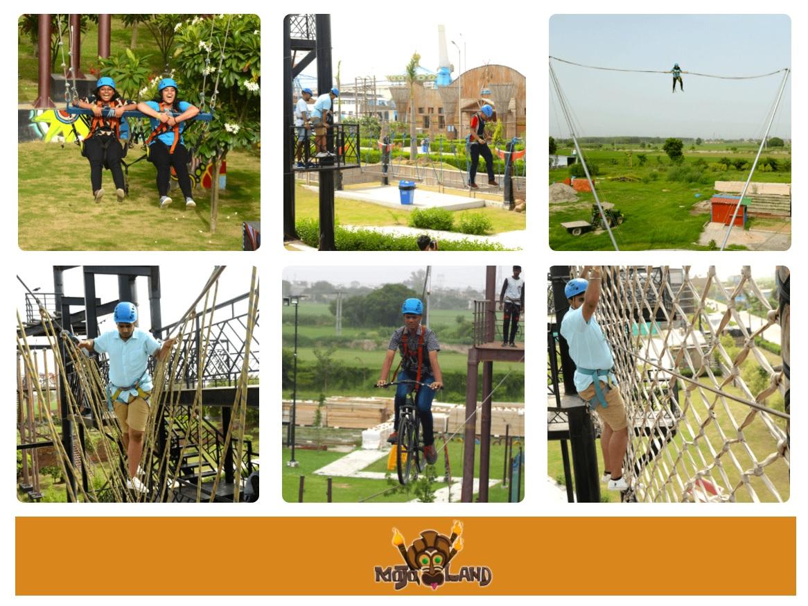 Enjoy Hot Air Balloon Ride at Mojoland After Amrik Sukhdev (Murthal)