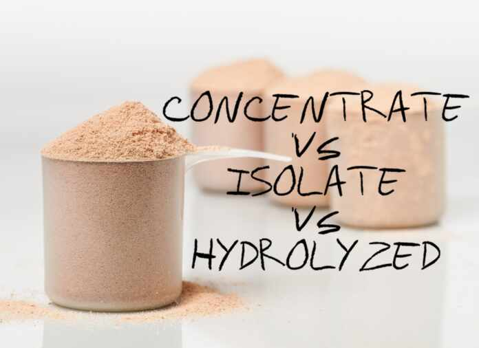Whey Protein Isolate Vs concentrate