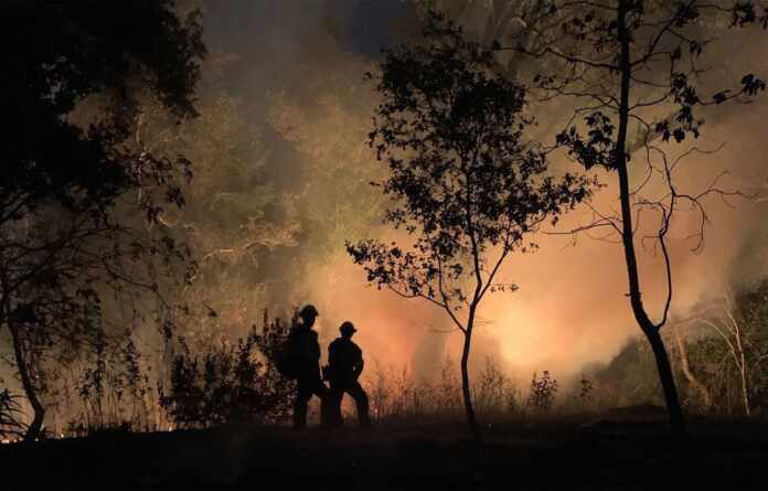 Wildfire and Keep Everybody Around You Safe