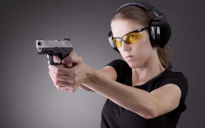 how shoot a pistol